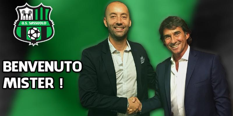 MASTER GROUP SPORT WELCOMES CRISTIAN BUCCHI, NEW COACH OF SASSUOLO CALCIO
