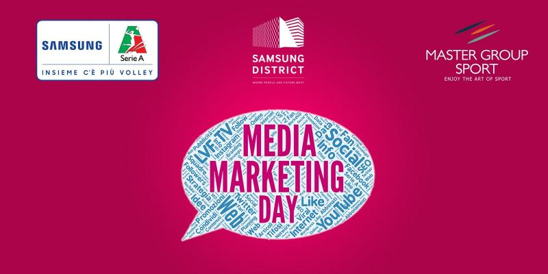 MASTER GROUP SPORT E LEGA VOLLEY FEMMINILE AL SAMSUNG DISTRICT PER IL MEDIA & MARKETING DAY