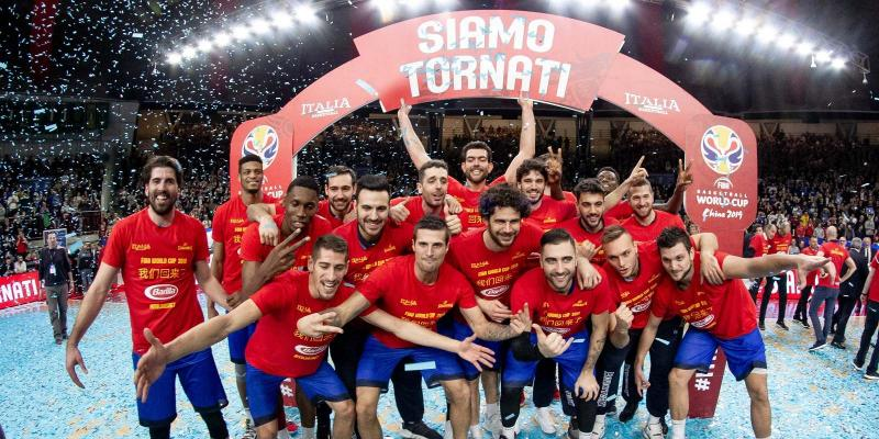 THE ENERGY OF VARESE PUSHES ITALY TO FIBA WORLD CUP OF CHINA 2019