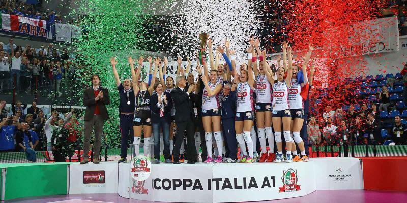 37^ Coppa Italia Serie A1: Novara scoppia di gioia, il trofeo è suo. Una...