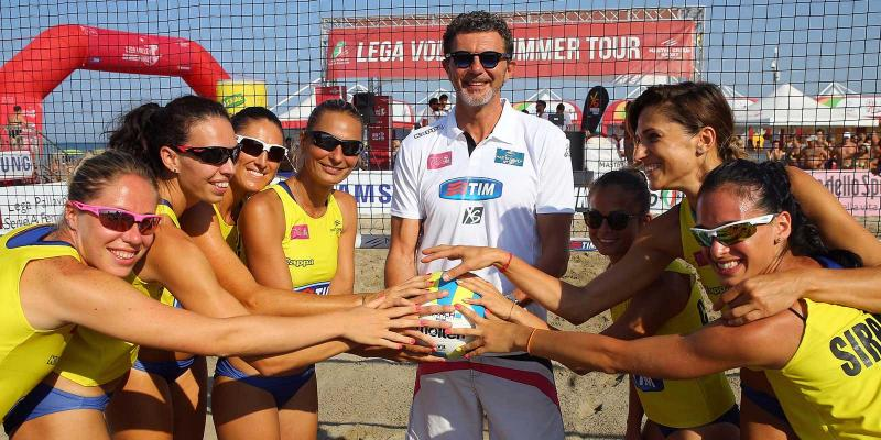 MASTER GROUP SPORT LEGA VOLLEY SUMMER TOUR 2015: A RICCIONE L'ULTIMA FERMATA...