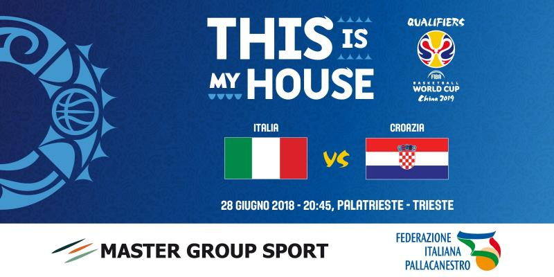 FIBA WORLD CUP: APERTA LA VENDITA PER ITALIA-CROAZIA