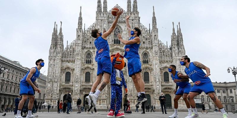 EUROBASKET 2022: A MILANO L'ITALIA CON GRECIA, CROAZIA, UCRAINA, GRAN...