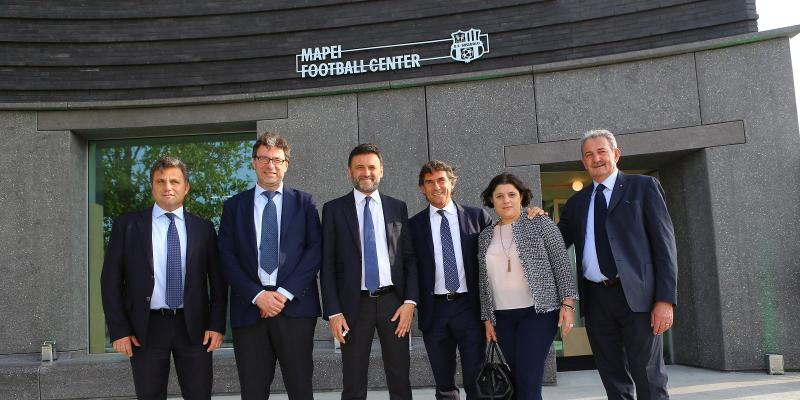 MASTER GROUP SPORT CURA L'INAUGURAZIONE DEL MAPEI FOOTBALL CENTER