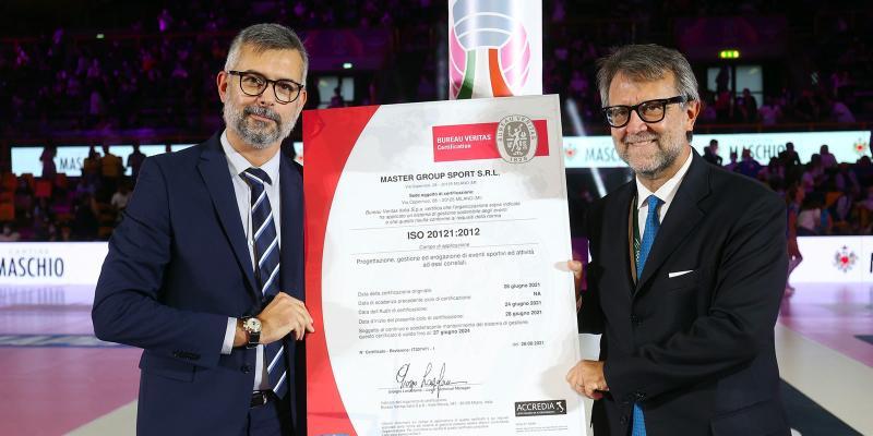 A MASTER GROUP SPORT IL CERTIFICATO ISO 20121:2012 PER LA GESTIONE...